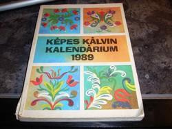 KÉPES KÁLVIN KALENDÁRIUM 1989-ből