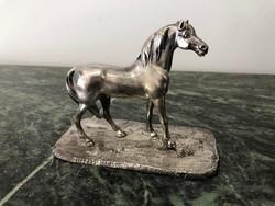 Antik ezüst ló
