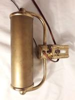 Óarany színű patinás kép megvilágító lámpa  kép keretre rögzíthető