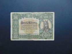 500 korona 1920 5 A 001