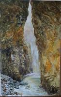 Volkov Mihail - Kanyon c. festménye