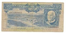 50 escudo 1962 Angola