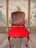 Antik barokk kárpitos szék