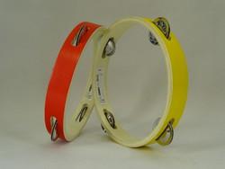 0W292 LATTJO piros - sárga csörgő csörgőkarika pár
