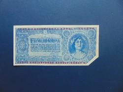 1 millió korona 1923 Fenyő Harisnyaház R !!!
