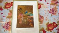 Szignózott fantázia festmény
