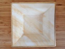 """Villeroy & Boch  """" Charleston Onyx """" szögletes tálka 14 x14 cm"""
