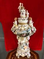 Antik 19.századi német porcelán váza