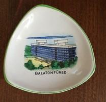 Balatonfüred ( Bodrogkeresztúri kerámia)Mérete:10x8 cm.