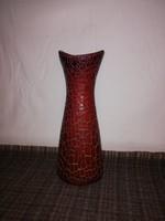 1,-Ft Zsolnay repesztett ökörvér mázas nagy váza!