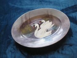 LIMOGES  /francia /  nagyméretű ovális  porcelán tálca   31  x 46 cm !!