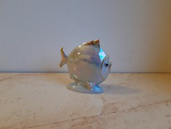 Drasche porcelán lisztermázas hal