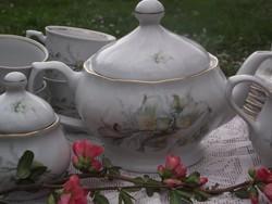 Ünnepi teás hosszükávés készlet