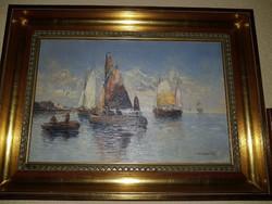 Georg Fischhof 1859-1920 (Velence)-Leárazás-