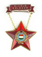 0W194 Szocreál Kiváló dolgozó kitüntetés