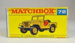 0W305 MATCHBOX Superfast Standard Jeep doboz