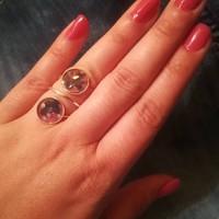 Gyűrű és fűlbevalo
