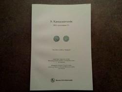 X. Kamaraárverés 2016. szeptember 10. Pannonia Terra Numizmatika/id 5514/