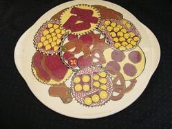 Retro kerámia, porcelán tortatál