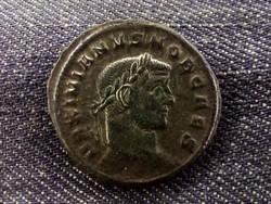 Maximianus ezüstözött Follis Sziszek 300 GENIO POPVLI ROMANI/id 8464/
