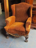 Antik chippendale fotelpár
