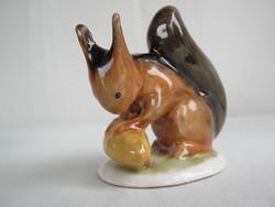 Bodrogkeresztúri kerámia mókus