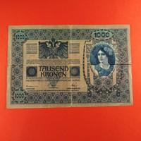 Osztrák-Magyar 1000 korona 1902 pecsételt NSZ
