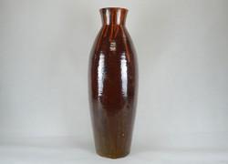 0W456 Hatalmas retro kerámia váza padlóváza 60 cm