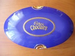 Csokis doboz bonbonos doboz régi jó állapotban fém - gyűjteménybe