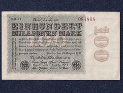 Extra szép német 100 millió márka 1923/id 5601/