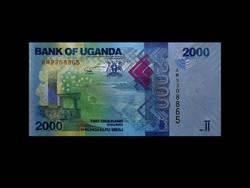 UNC - 2000 SHILINGI - UGANDA - 2017