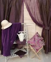 Csodálatos lila lakástextilek eladók