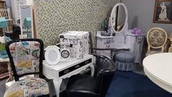 Képregény kárpitos designe szék