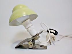 Régi csíptethető gomba asztali lámpa