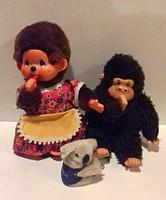 2-db Moncsicsi figura ajándék Koala macival egyben