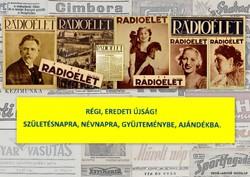 1935 augusztus 23  /  Rádióélet  /  Régi ÚJSÁGOK KÉPREGÉNYEK MAGAZINOK Szs.:  9116