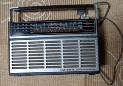 Telefunken Partner Universal 501, retro német rádió (NSZK, 1970-es évek)