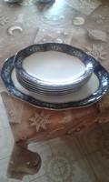 Zsolnay porcelán-húsos szett