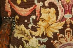 Antik reneszánsz karosszék