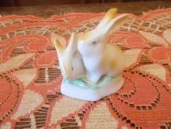 Hollóházi porcelán nyuszik