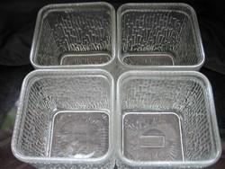 Ritka retro Haas sütőpor tartó üveg