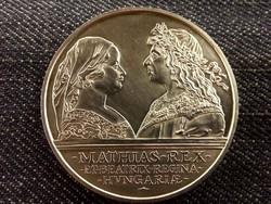 Mátyás ezüst 500 Forint 1990 (id8149)