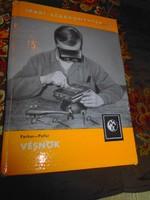 A Vésnök-Ipari szakkönyvtár (fémjelekkel, mintákkal) RITKA