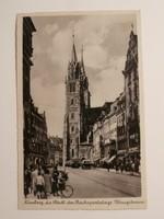 III. Birodalom Nürnberg futott képeslap