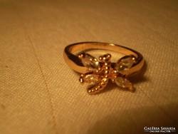 18.karátos Gold filled SZITAKÖTŐ gyűrű