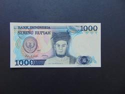 1000 rupia 1987 Indonésia Hajtatlan bankjegy