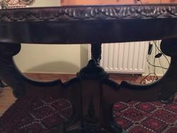 Antik fa dohányzóasztal vagy étkező asztal