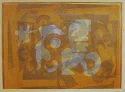 Litkei József (1924-1988)  -  Átfedések (nagy méretű)