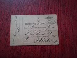 1916-os Tábori posta 84-es tábori posta szog .