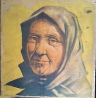 Mácsai  István -945- Athenaeum Koloroffset Budapesten készült plakát portré mérete:57cmX57cm